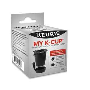 Keurig  1 cups Black  K-Cup  Coffee Filter  1 pk