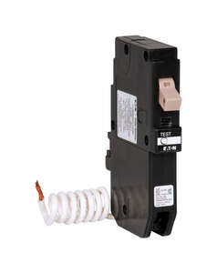 Eaton  Cutler-Hammer  20  GFCI  Single Pole  Circuit Breaker w/Self Test