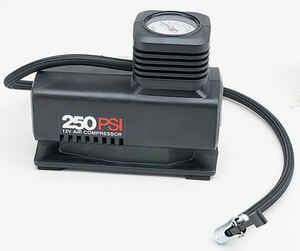 Custom Accessories  Air Master  12 volt 250 psi Inflator/Compressor
