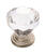 Amerock Traditional Classics Round Furniture Knob 1-1/4 in. Dia. 1-1/5 in. Satin Nickel 5 pk