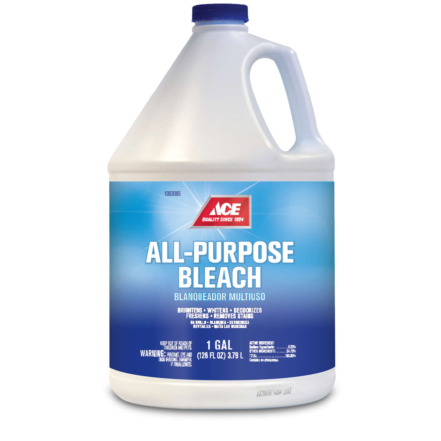 Ace  Regular Scent HE Bleach  128 oz.