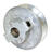 Dial  2-1/4 in. H x 1/2 in. W Zinc  Silver  Fixed Motor Pulley