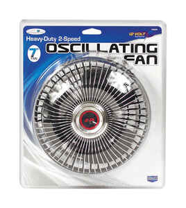 Custom Accessories  12 volt Oscillating Fan