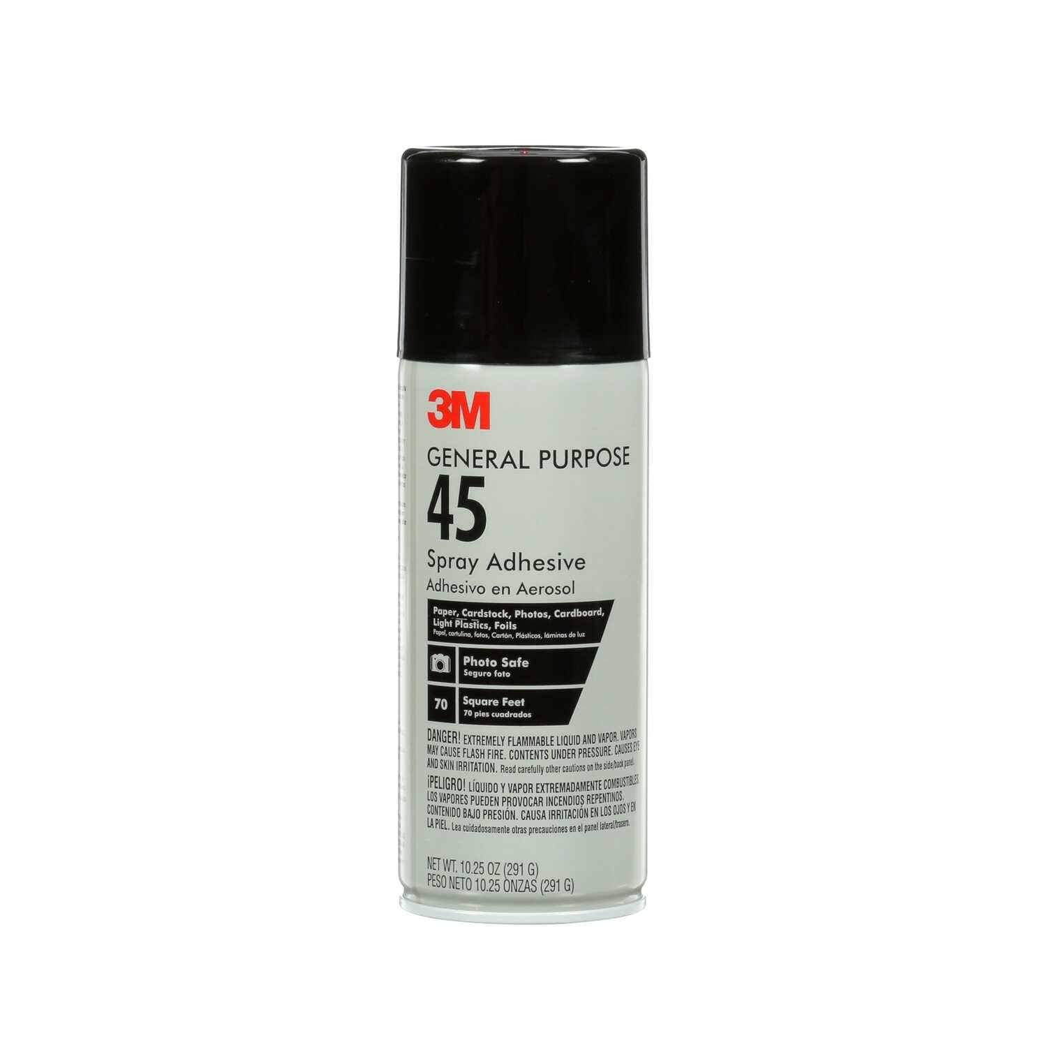 3M  General Purpose 45  Medium Strength  Synthetic Polymer  Adhesive  10.25 oz.
