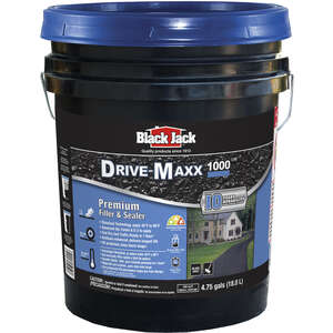 Black Jack  Ultra-Maxx 1000  Matte  Black  Urethane  Latex  Driveway Sealer  4.75 gal.
