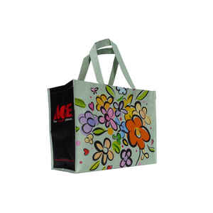 Ace  13.5 in. H x 7 in. W x 16 in. L Reusable Shopping Bag