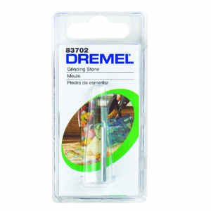 Dremel  1/8 in. Dia. x 1/8 in. L Grinding Stone  Cylinder  35000 rpm 1 pc. Silicon Carbide