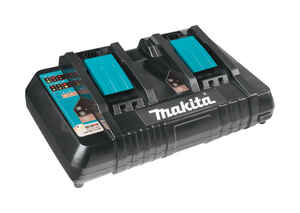 Makita  LXT  18 volt Lithium-Ion  Dual Battery Charger  1 pc.