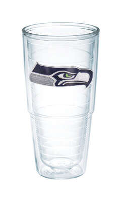 Tervis  NFL  24 oz. Seattle Seahawks  Tumbler  Clear
