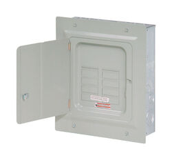 Eaton  Cutler-Hammer  125 amps 120/240 volt 6 space 12 circuits Flush Mount  Main Lug Load Center