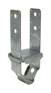 Simpson Strong-Tie  ZMax  6.25 in. H x 3.56 in. W 12, 14 Ga. Galvanized Steel  Post Base