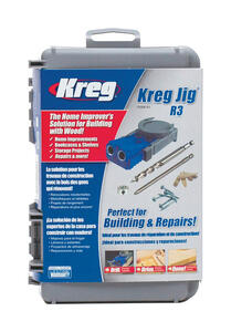 Kreg  Nylon  No.2  Pocket Hole Jig  1/2 in. to 1-1/2 in. Gray  1 pc.