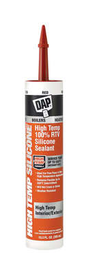 DAP Red 100% RTV Silicone Sealant 10.3 oz.