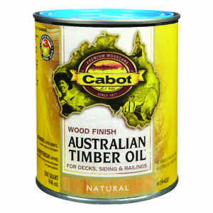 Cabot  Transparent  19400 Natural  Oil-Based  Australian Timber Oil  1 qt.