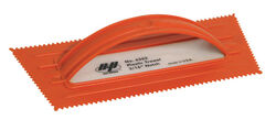 Marshalltown QLT 4-1/2 in. W Plastic Notched Trowel