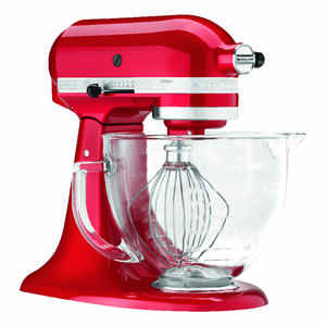 KitchenAid  Candy Apple Red  5 qt. 10 speed Stand  Mixer