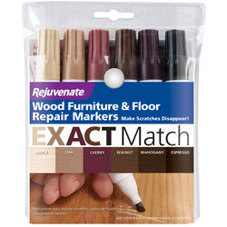 Rejuvenate Assorted Medium Tip Wood Marker 6 pk