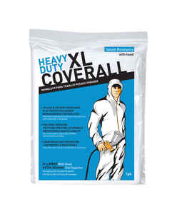 Trimaco  Polyolefin  Coveralls  White  XL  1 pk
