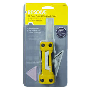 Resolve  1 pc. Prep and Paint Multi-Tool  Yellow