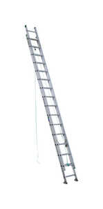 Werner  32 ft. H x 17.33 in. W Aluminum  Extension Ladder  Type II  225 lb.