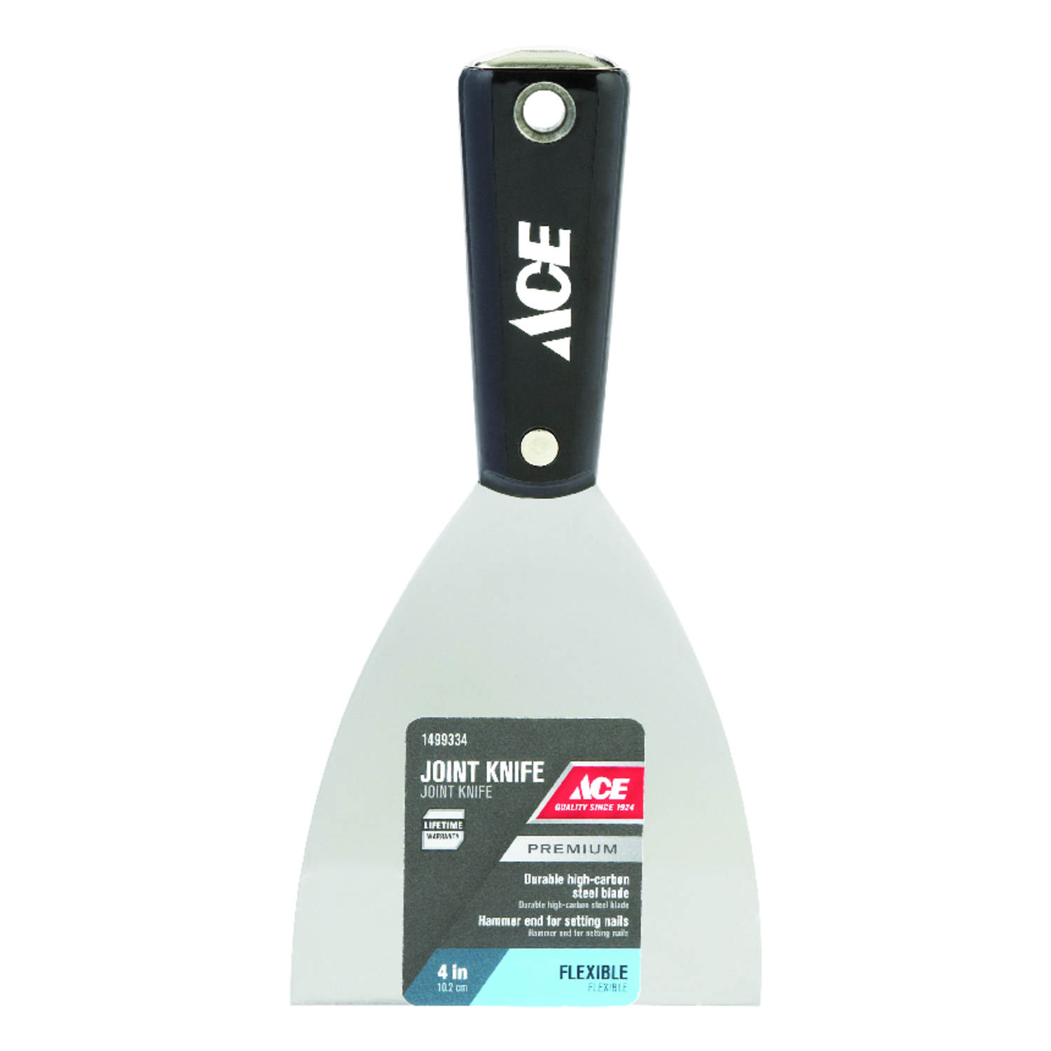 Ace  4 in. W High Carbon Steel  Flexible  Joint Knife