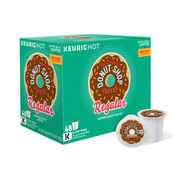 Keurig  Donut Shop  Regular Medium Roast  Coffee K-Cups  48 pk