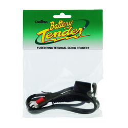Battery Tender  Automatic  12 volt 7.5 amps Battery Charger Ring Terminal Harness