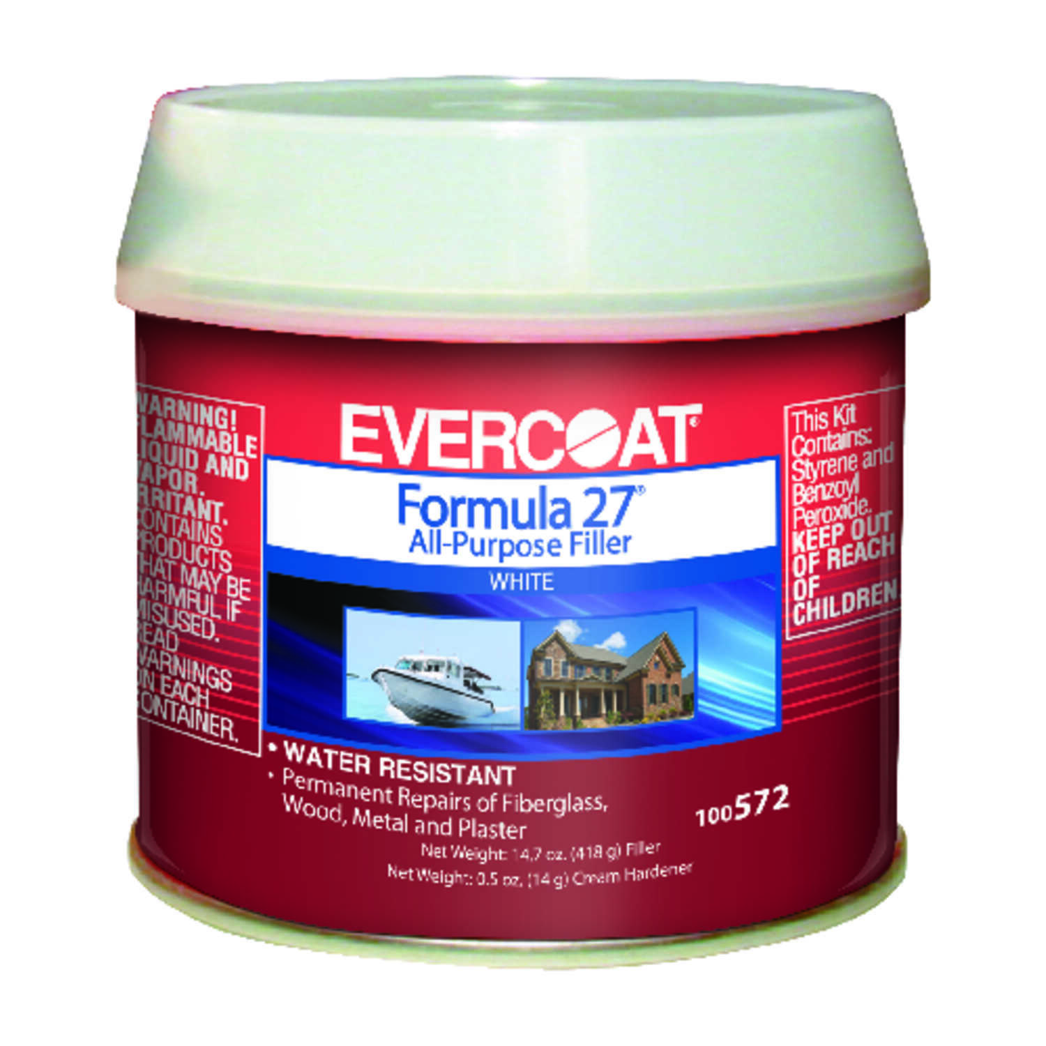 Evercoat  Formula 27  All-Purpose Filler  15.2 oz.