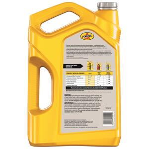 PENNZOIL  10W-40  4 Cycle Engine  Multi Grade  Motor Oil  5.1 qt.