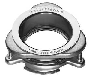 InSinkErator  Garbage Disposal Sink Flange  N/A hp Stainless Steel
