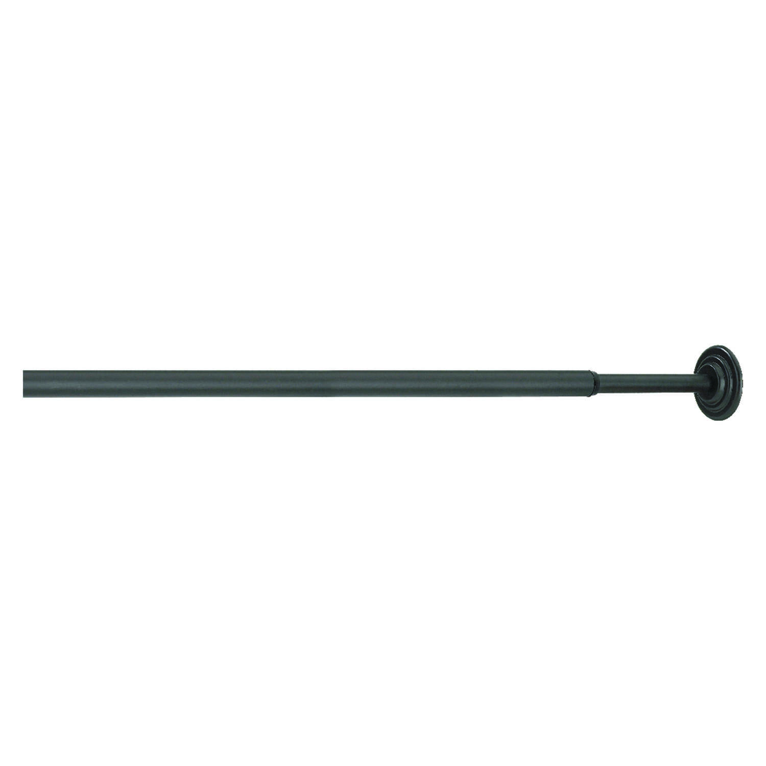 Umbra  Nickel  Black  36 in. L Tension Rod