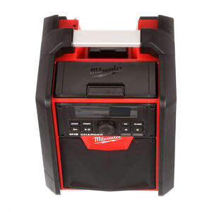 Milwaukee  M18  18 volt Lithium-Ion  Worksite Radio and Charger  1 pc.