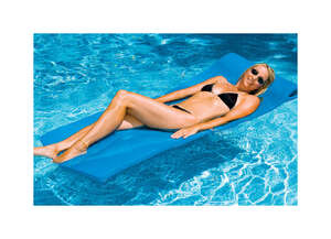Swimline  Blue  Blue  Foam  Mattress  Floating Pool Mat