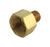 JMF  3/4 in. FPT   x 1/2 in. Dia. MPT  Brass  Reducing Coupling
