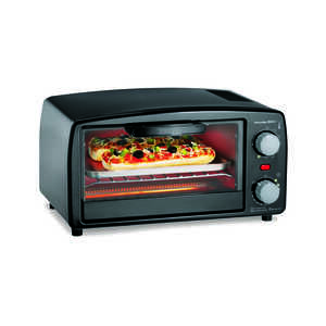 Proctor Silex  Black  Convection Toaster Oven  10.3 in. H x 13.8 in. W x 16.3 in. L