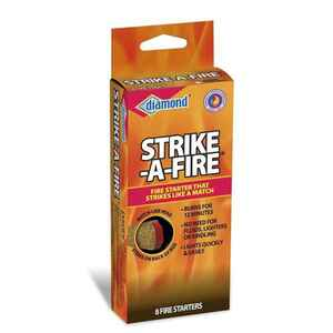 Diamond  Strike-A-Fire  Saw Dust  Fire Starter  7.9
