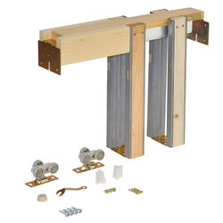 Johnson Hardware  Aluminum  Pocket Door Frame Kit  1 pk