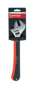 Ace  12 in. Adjustable Wrench  1 pc.
