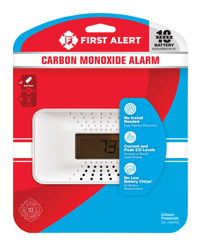 First Alert  Battery  Electrochemical  Carbon Monoxide Alarm