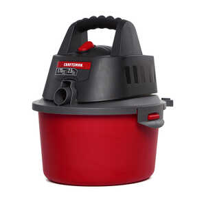 Craftsman  2.5 gal. Corded  Wet/Dry Vacuum  1.75 hp 4 amps Red  7.9 lb. 1 pc. 120 volts