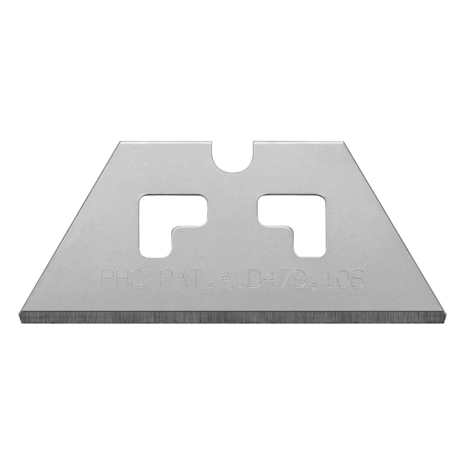 Pacific Handy Cutter  0.017 in.  Carbon Steel  Safety Point  Replacement Blade  100 pk