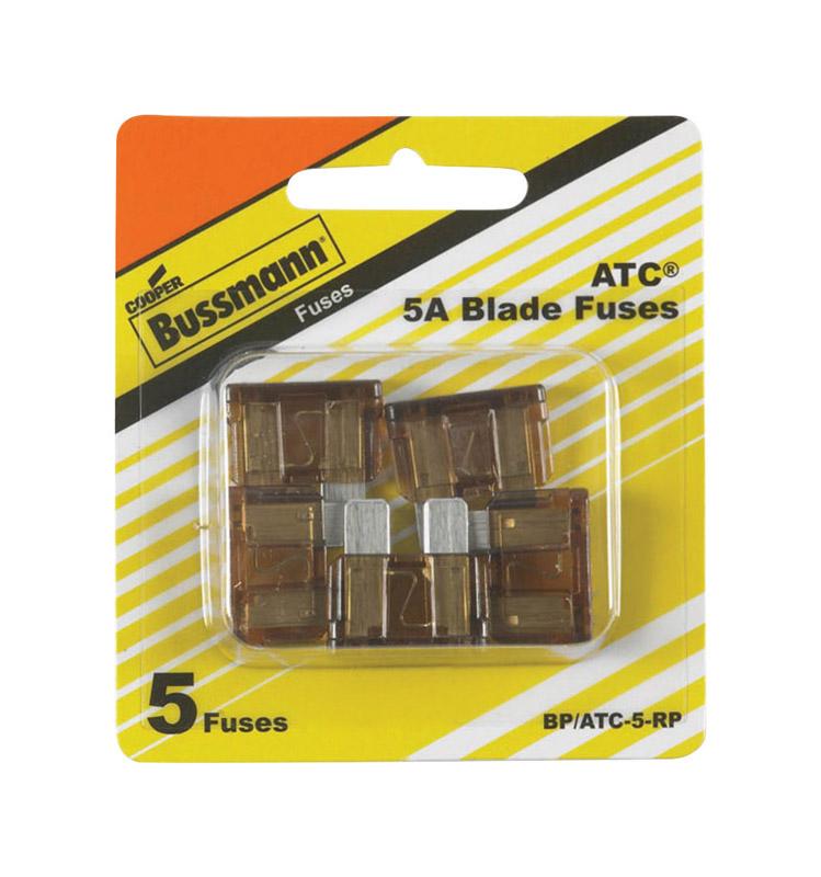 fuses bulbs towing automotive ace hardware Gas Tank Holder bussmann 5 amps atc blade fuse 5 pk