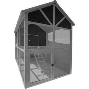 Precision Pet  12 Chickens  Firwood  Chicken Coop