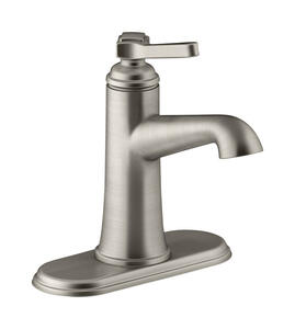 Kohler  Georgeson  Brushed Nickel  Single Handle  Lavatory Faucet  4 in.