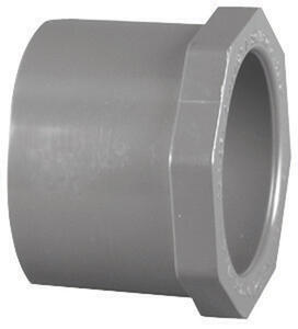 Charlotte Pipe  Schedule 80  1-1/2 in. Spigot   x 3/4 in. Dia. Slip  PVC  Reducing Bushing