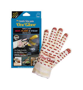 Ove' Glove  The Anti-Steam  Multicolor  Silicone  Oven Mitt  1 pk