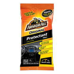 Armor All  Original  Plastic/Vinyl  Protectant  Bagged  20 wipes