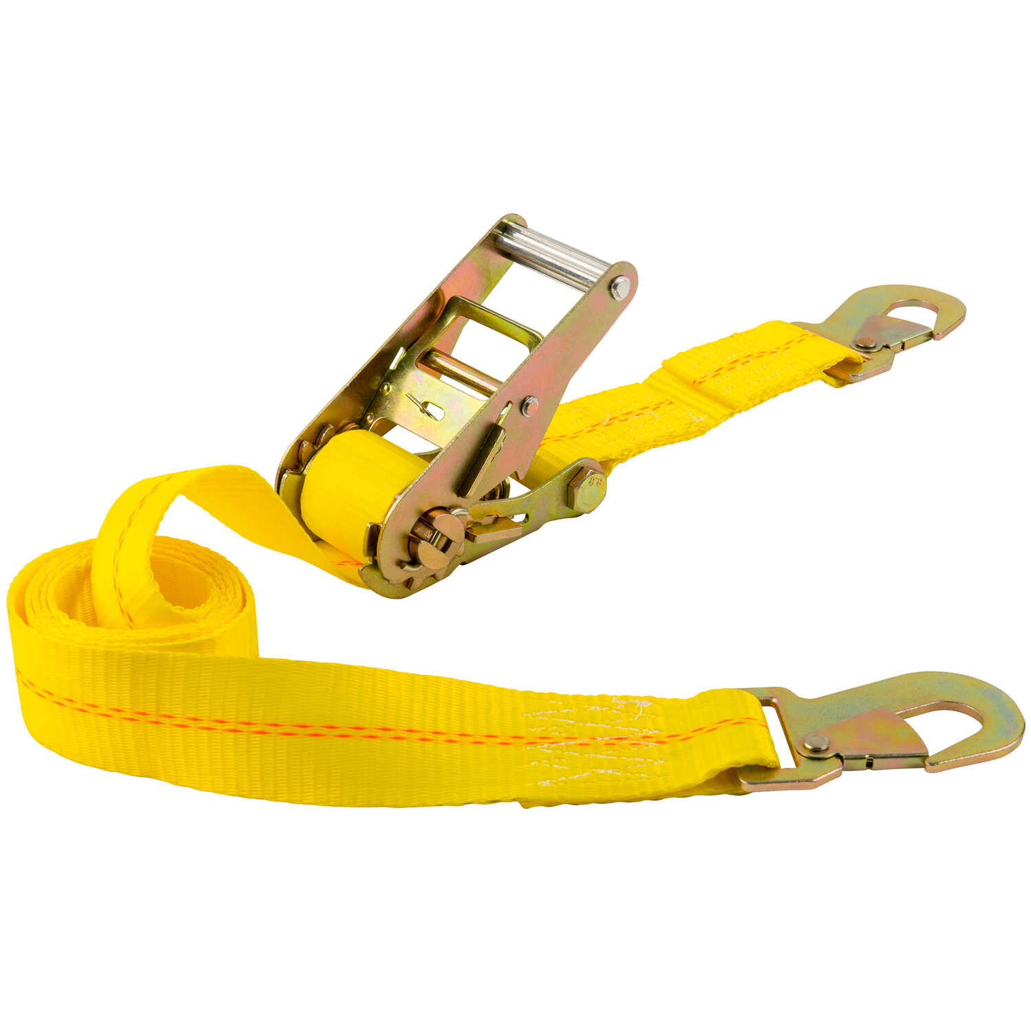 Keeper  2 in. W x 7 ft. L Yellow  Tie Down Strap  2000 lb. 1 pk
