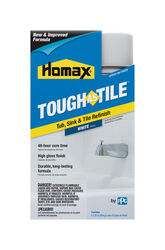 Homax  Tough As Tile  Gloss  White  Bathtub and Tile Refinishing Kit  32 oz.