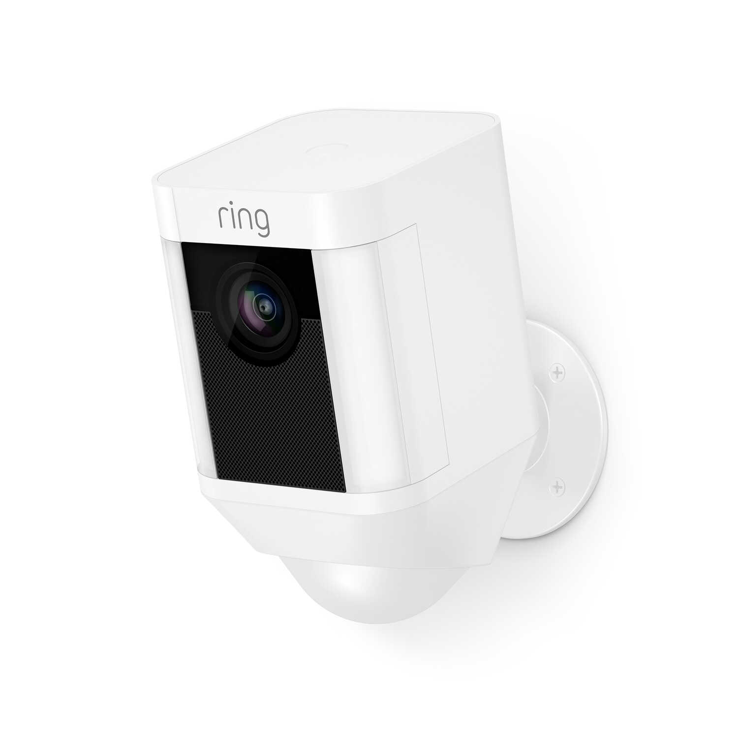 Ring  Battey Powered  Indoor and Outdoor  Wi-Fi Security Camera  White